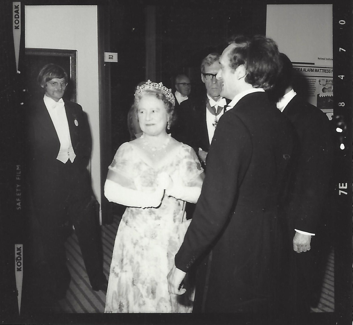 John with the Queen Mother