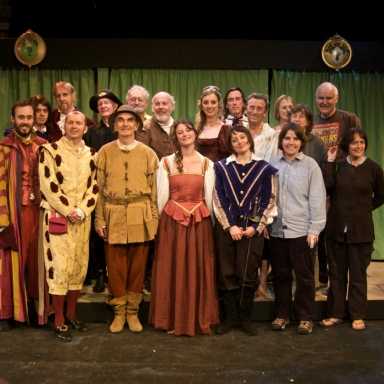 The Cast of Twelfth Night