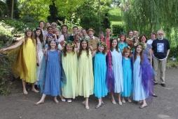 The Cast of A Midsummer Night's Dream in Paris