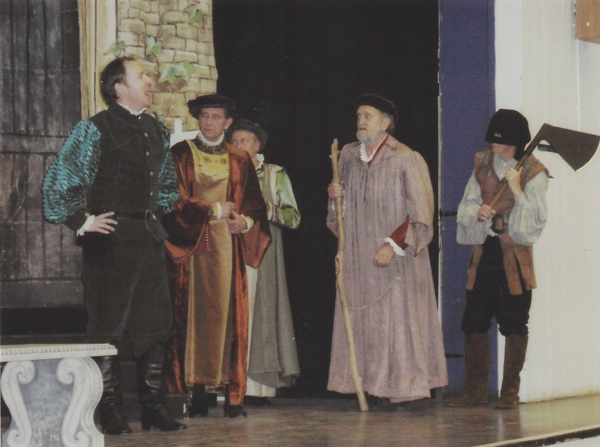 John Morton in The Comedy of Errors
