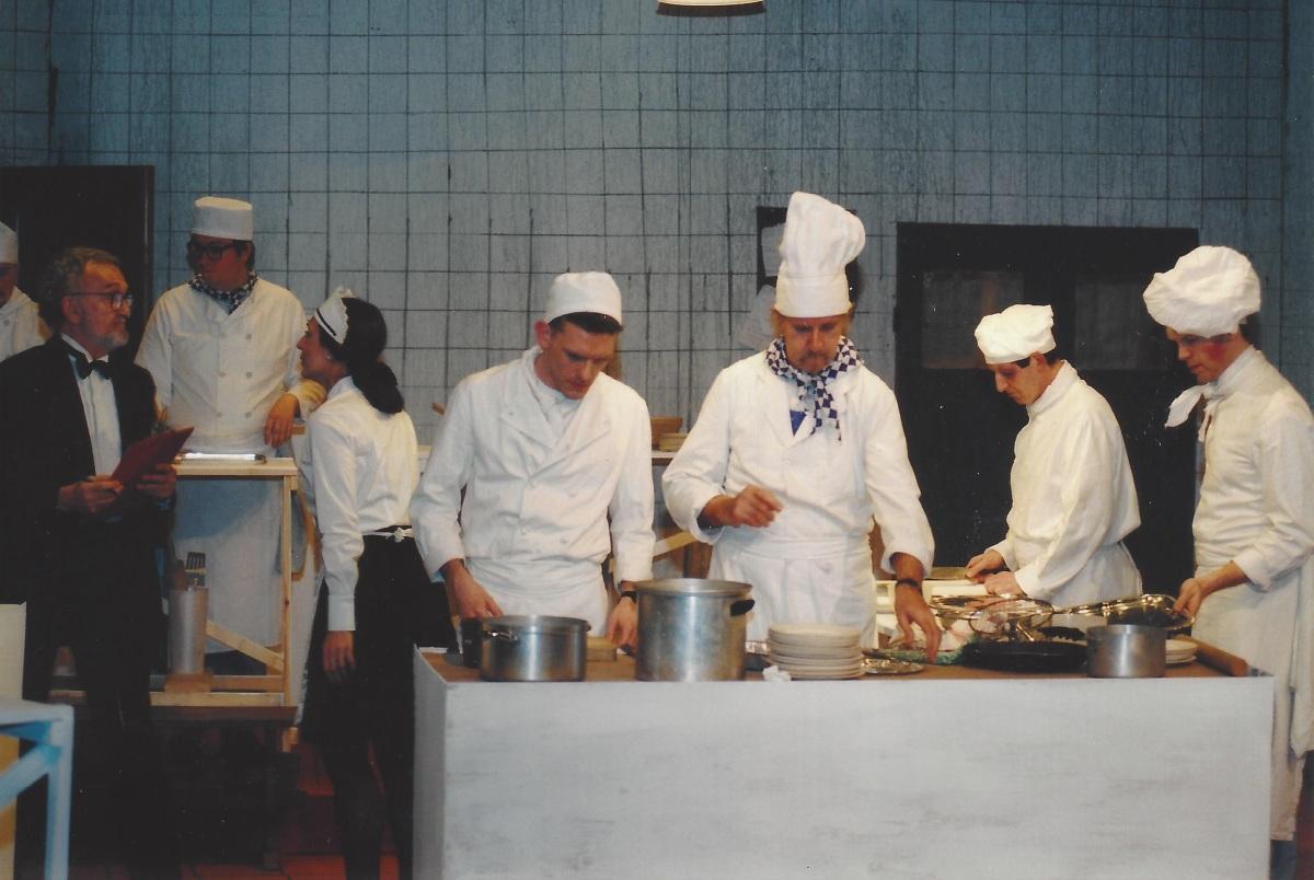 John Morton in The Kitchen