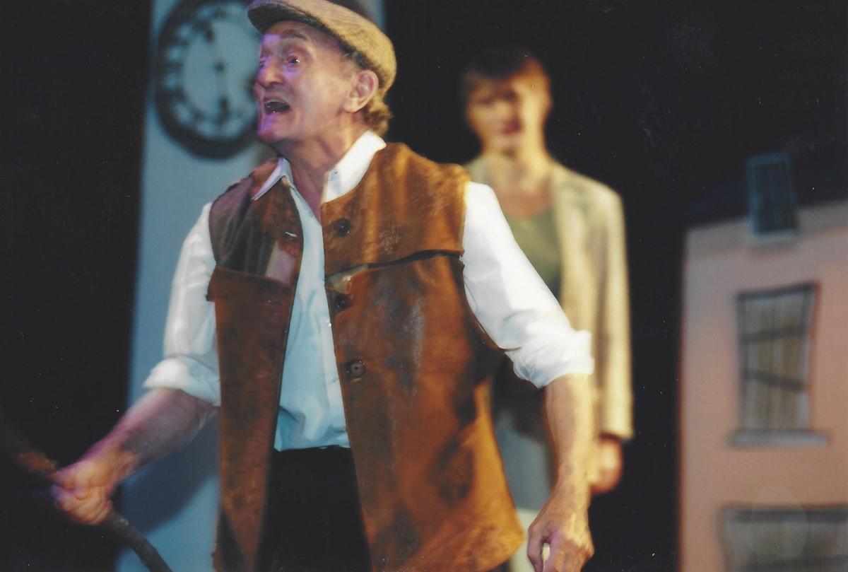 John Morton in Under Milk Wood